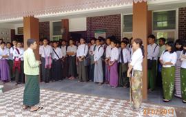 缅甸林业大学参观学习