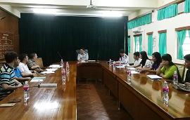 东南亚中心和缅甸林业研究所召开工作协商会