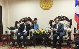 版纳植物园陈进主任率团访问老挝科技部