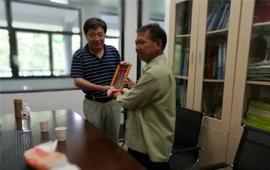 老挝科技部代表团访问植物园