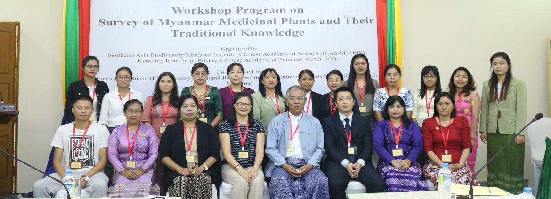 缅甸药用植物及其传统知识调查研讨会在内比都顺利召开