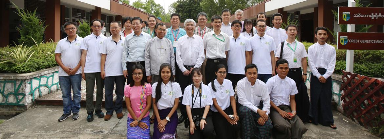 丁仲礼率全国人大代表团考察东南亚中心缅甸中心