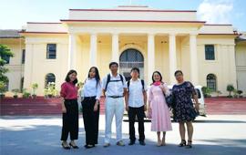 版纳植物园访问缅甸曼德勒大学