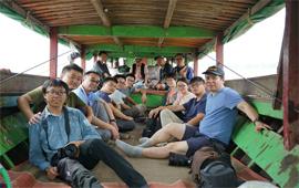 媒体关注正在进行中的中缅联合科考