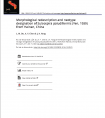 Morphological redescription and neotype designation of Sulcospira paludiformis (Yen, 1939) from Hainan, China