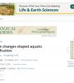 Tethyan changes shaped aquatic diversification
