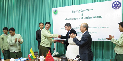 CAS and MOECAF signed a new MOU