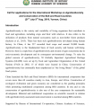 Call for applications for the International Workshop on Agrobiodiversity and Conservation of the Belt and Road Countries