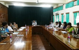 Working consultation between CAS-SEABRI and Forest Research Institute