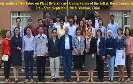 Successful accomplishment of the International Workshop on Plant Diversity and Conservation of the Belt & Road Countries