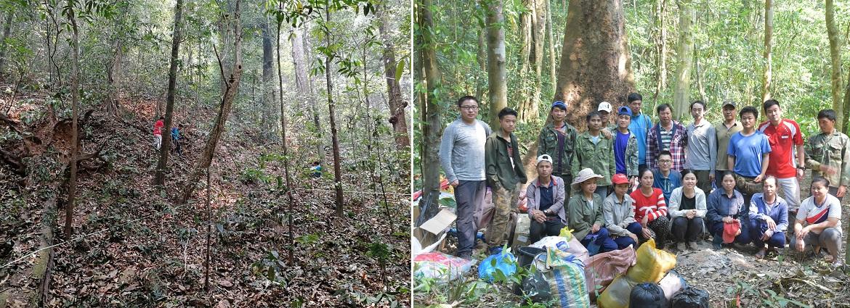 XTBG completes third China-Lao transboundary biodiversity investigation