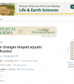 Tethyan changes shaped aquatic diversification